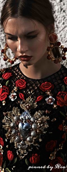 Lieke Van Houten for Dolce & Gabbana l Ria