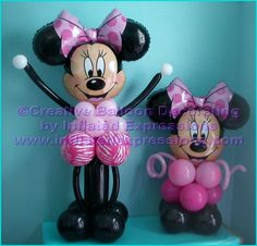 Centerpieces Minnie mouse