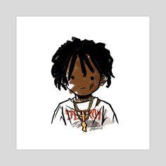 Cartoon Wallpaper Hd, Anime Wallpaper Phone, Rap Wallpaper, Character Creation, Character Art, Trap Art, Baby Voice, Black Cartoon Characters, Doodle Inspiration