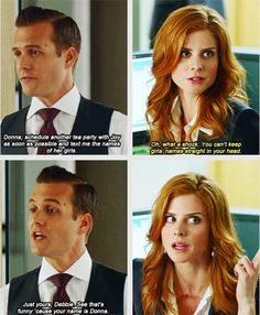 Suits- Harvey and Donna. Serie Suits, Suits Tv Series, Suits Tv Shows, Harvey Specter Suits, Suits Harvey, Suits Season 1, Donna Harvey, Donna Suits, Donna Paulsen