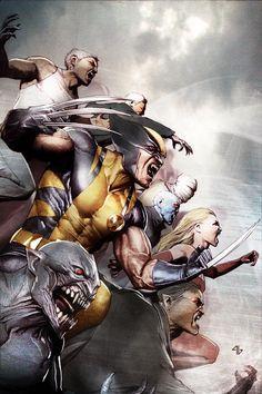 Vampire X-Men Cover
