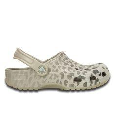 fb54e007b Crocs Platinum Classic Leopard Fade Clog - Women