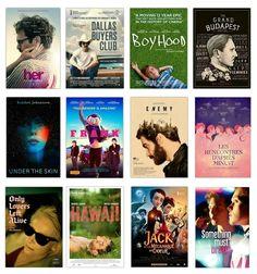 FAVORITES MOVIES OF 2014.