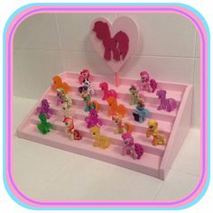 My Little Pony collection /Blind Bag/ Mini Figure Display Stand Handmade
