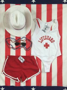 Lifeguard bodysuit by Mw5printing on Etsy
