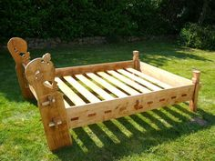 Viking bed construction plans - Google Search