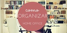 Como organizar home office :http://blogchegadebagunca.com.br/como-organizar-home-office/
