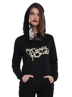 My Chemical Romance Black Parade Girls Pullover HoodieMy Chemical Romance Black Parade Girls Pullover Hoodie, BLACK