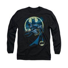 Batman Men's Heed The Call Long Sleeve Black, Size: Medium Cartoon T Shirts, Boys T Shirts, Direct To Garment Printer, Shirt Style, Kids Fashion, Sweatshirts, Long Sleeve, Mens Tops, Clothes