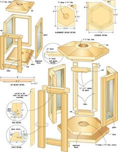 Ted's Woodworking Plans - ❧ Build purpleheart patio lanterns - Get A Lifetime Of Project Ideas & Inspiration! Step By Step Woodworking Plans Easy Wood Projects, Easy Woodworking Projects, Teds Woodworking, Home Projects, Project Ideas, Youtube Woodworking, Woodworking Videos, Craft Projects, Woodworking Basics