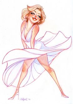 Marilyn by Betsy Bauer