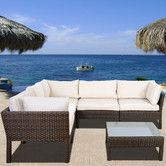 Found it at Wayfair - Atlantic St. Etienne 6 Piece Deep Seating Group with Cushions