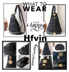 """Hfvin"" by nedim-848 ❤ liked on Polyvore featuring Versace, WALL and vintage"