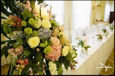 Beautiful wedding flowers at the Dunadry Hotel in Antrim  #dunadrywedding #weddingflowers