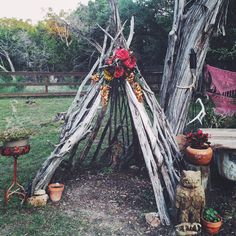 Stick Teepee More