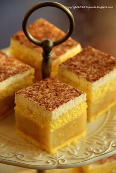 Apple Cake Recipes, Dessert Cake Recipes, No Bake Desserts, Polish Recipes, Pastry Cake, How Sweet Eats, Homemade Cakes, Cakes And More, Yummy Cakes