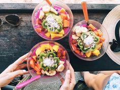 Lisa Homsy @lisahomsy Instagram photos   Websta Yogurt And Granola, Acai Bowl, Lisa, Breakfast, Photos, Instagram, Food, Acai Berry Bowl, Morning Coffee