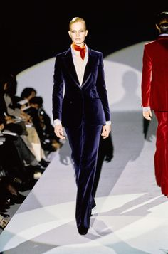 Gucci Fall 1996 Ready-to-Wear Fashion Show - Christina Kruse