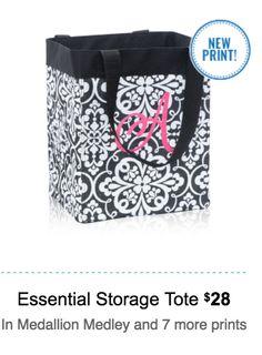 Thirty One essential storage tote www.jennpennbags.com
