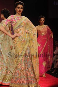 Bhairavi Jaikishan at Lakme Fashion Week Winter Festive 2012