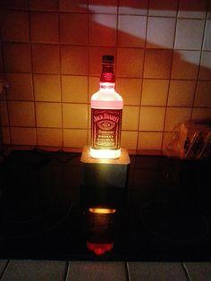 Lampe Jack Daniels, Whiskey, Light Bulb, Lighting, Home Decor, Bulb Lights, Homemade Home Decor, Whisky, Lights