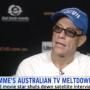awesome Jean-Claude Van Damme Gets Bored, Storms Out of Interview
