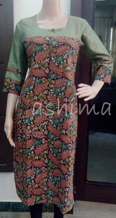Code:1712150 - Block printed cotton Kurta Price INR:790/-