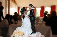Brautpaar auf der Torte in Nienburg/Weser