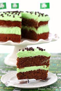 CHOCOLATE CAKE  MINT