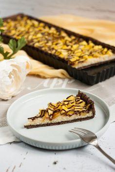 Mangós-túrós pite recept - Kifőztük, online gasztromagazin Butcher Block Cutting Board, Mango, Food And Drink, Sweets, Cookies, Recipes, Deserts, Manga, Crack Crackers