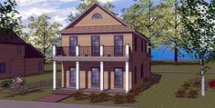 House Plan chp-49300 at COOLhouseplans.com