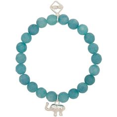 Womens Bracelets & Cuffs MeMe Good Luck Trunk Turquoise Agate Bracelet ($51) ❤ liked on Polyvore featuring jewelry, bracelets, turquoise charm, elephant bangle, agate bangle, charm jewelry and cuff jewelry
