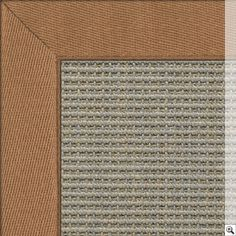 Sisal Big Boucle Accents Rug. Border: Linen Twill / Tortilla Rug Store, Natural Rug, Accent Rugs, Rugs On Carpet, Stencils, Colours, Deco, Big, Handmade