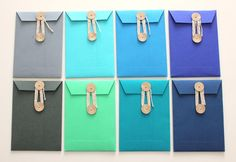 Lulu Lucky String and Tie Envelopes