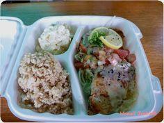 Kakaako Kitchen (10.00-21.00、金10.00-22.00、土8.00-22.00、日8.00-17.00) ※Sautéed Mahi、Sweet Chili Chicken