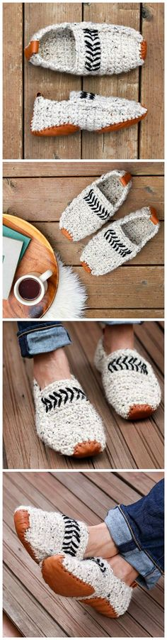 Crochet Stcrochetylish Slippers