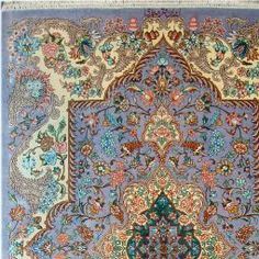 Qum Silk Persian Rug - Item# cs-q5