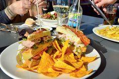 De IJ Kantine  http://www.ijkantine.nl/menukaart/lunch/