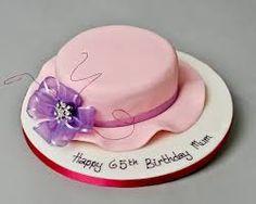 Elegant Birthday Cakes For Women - Bing Images 65th Birthday Party Ideas, 65 Birthday Cake, Happy Birthday Cake Photo, Birthday Cake Writing, Birthday Woman, Birthday Cookies, Birthday Cake For Women Elegant, Elegant Birthday Cakes, Birthday Cakes For Women