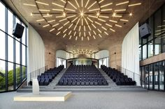 Daum Space.1-conference hall at Jeju Province, South Korea by Mass Studies