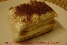 Mis recetas Mycook: Tiramisu fácil