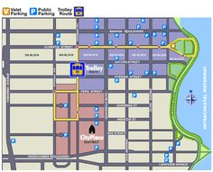 map of downtown west palm   History of The Molly's Trolley Service in West Palm Beach