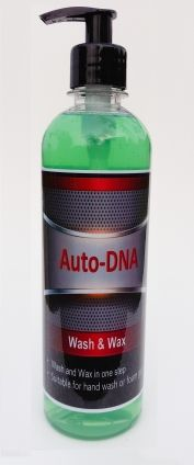 Auto-DNA Wash & Wax 500 ml R68.95 Wholesale car care supplies and detailing products | Cleaning, Polish, Car Wash, Shampoo, Wax