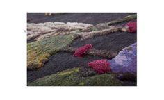 savage flowers blossom #design by Kiki Van Eijk, Nepal, 10 mm pile height, linen, banana silk, bamboo silk, natural silk. http://www.nodusrug.it/it/collezione_tappeti_scheda.php?ID=FLOW3