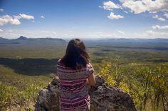 Feeling the wind blow on the top of rocks in Chapada dos Veadeiros. #chapada #brazil