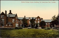 Card Serial No. Printed in Great Britain. Ridley College, St Catharines, Haunted Places, Great Britain, Niagara Falls, Ontario, Beautiful Places, Survival, Canada