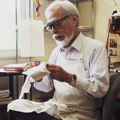 Legendary Studio Ghibli head Hayao Miyazaki wearing a classy JLC Reverso. by modernhorologist
