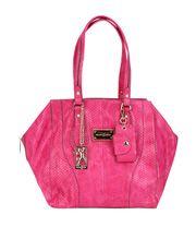 Bolsa Fellipe Krein Texturizada - Pink