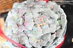 Back For Seconds: Cupcake Muddy Buddies