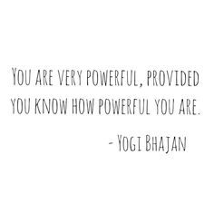 Clarity is powerful. See yourself as the infinite being of light that you are. #yogibhajan #truth